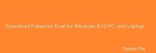 Download Pokemon Duel for Windows