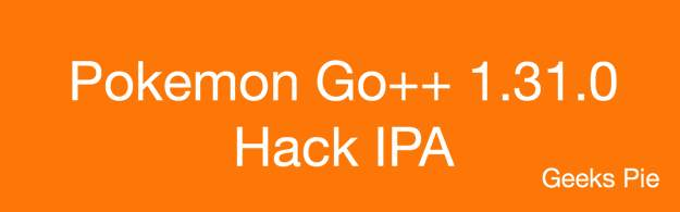 Pokemon Go++ 1.31.0 Hack IPA
