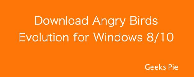 Angry Birds Evolution for Windows PC