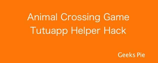 Animal crossing game Tutuapp hack