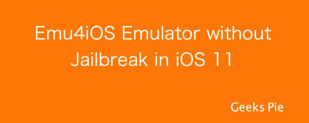 Install Emu4iOS Emulator for GBA and NDS Games in iOS 12