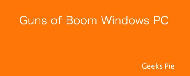 Guns of Boom for Pc
